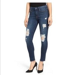 Good American Good Legs ripped jeans 14
